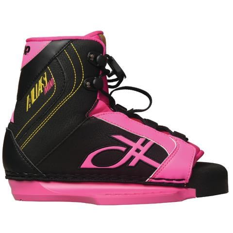 Double Up Alias mini OT Girls Boot sz 2-3 Wakeboard