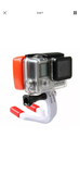 Grill mount mouth for GoPro or HD camera