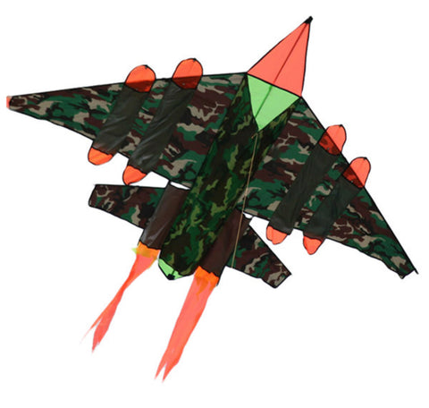 Jet plane single line children's kite 2m