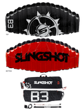 Slingshot B3 and B2 trainer kite
