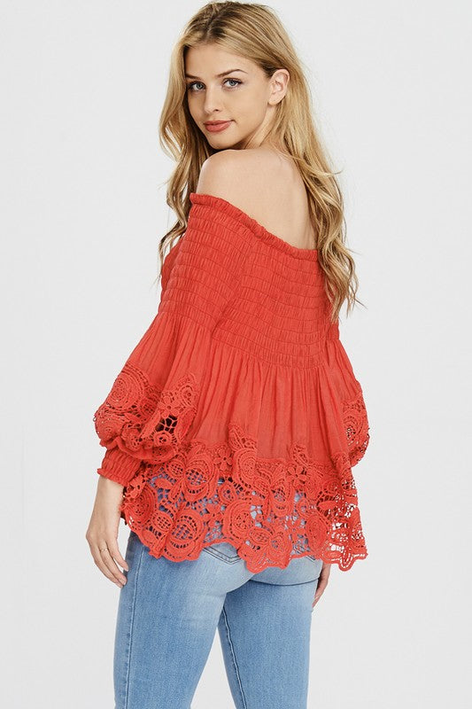 Kelly Off the Shoulder Top