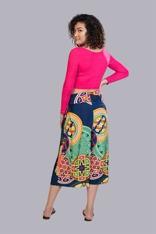 Abstract Kaleidoscope Culottes - BohAwesome