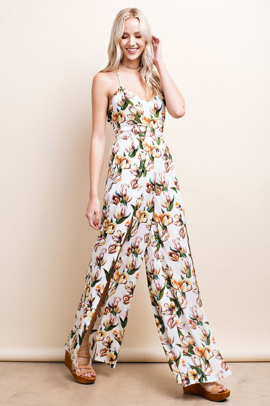 Cream of the Crop Jumpsuit - BohAwesome