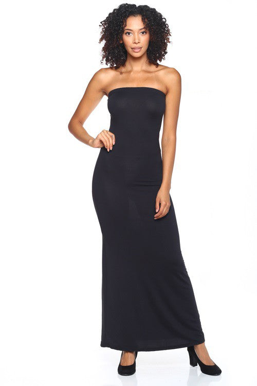 Strapless Long Bodycon Dress