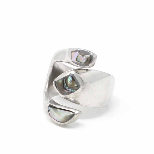 Orion's Belt Abalone Ring