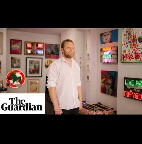 Guardian interview with Dan Martin at Fleek Gallery