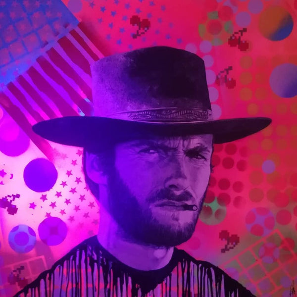 Spaced Cowboy collaboration with Raffaella Bertolini and Jason Pengelly