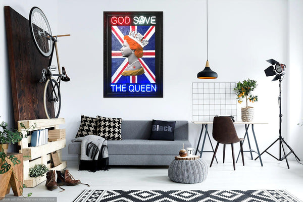 God Save the Queen in situ
