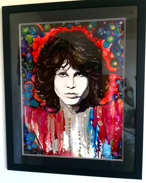 "Jim Morrison ""Hello, I Love You"" Raffaella Bertolini"