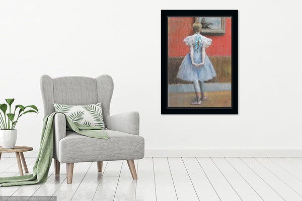 Nigel Mason In the Gallery Ballerina Pastel