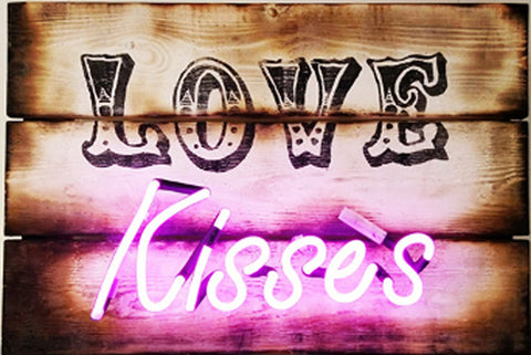 Love Kisses Illuminati Neon