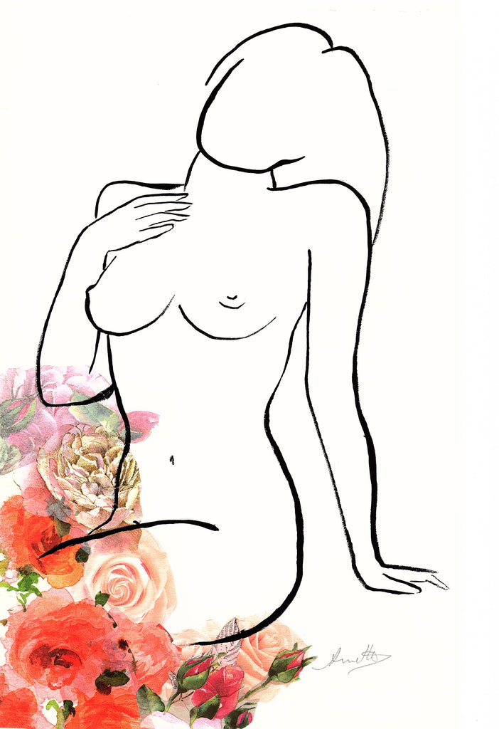 Nude and Roses 5