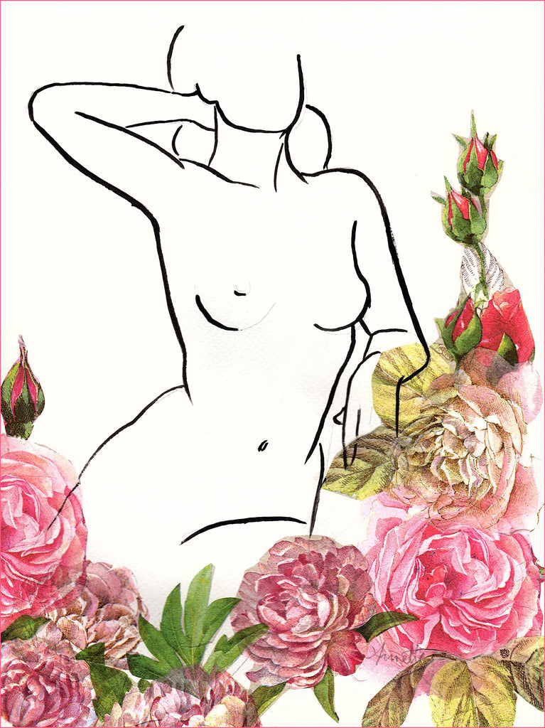 Nude and Roses 6