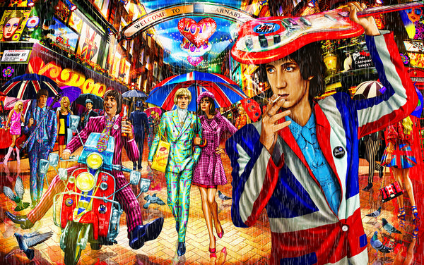 The Who on Carnaby Street Rob de Bank aka Patrick James