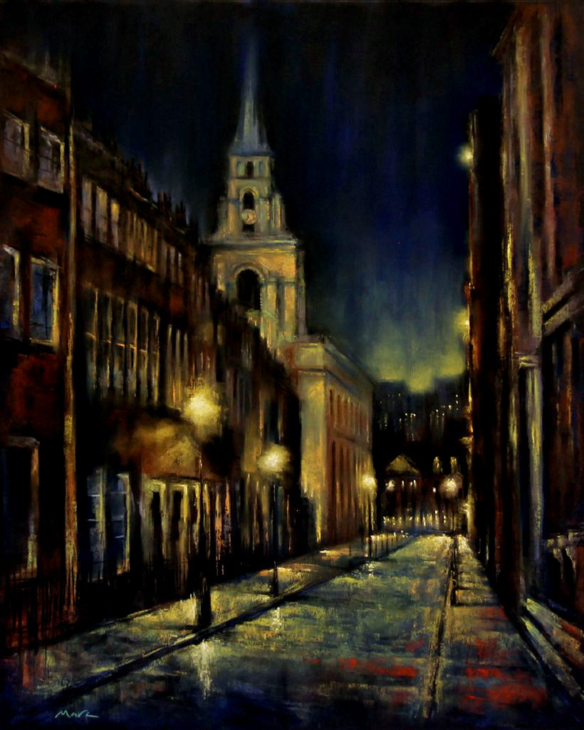 Winters Night, Spitalfields