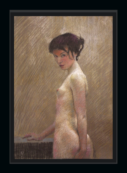 nigel mason pastel woman