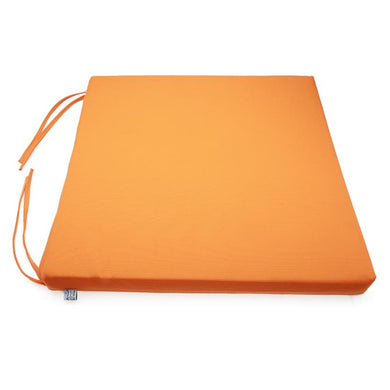 Nệm ngồi 40035 Orange Canvas Square Seat Pad 40x40x3.5cm (Cam)