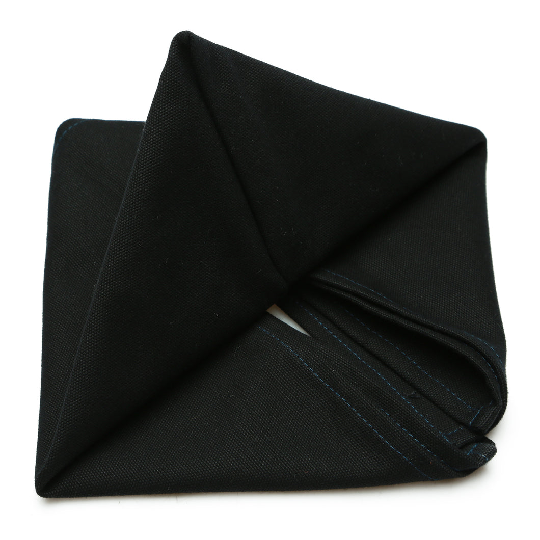 Vải Bố Soft Decor Black Canvas