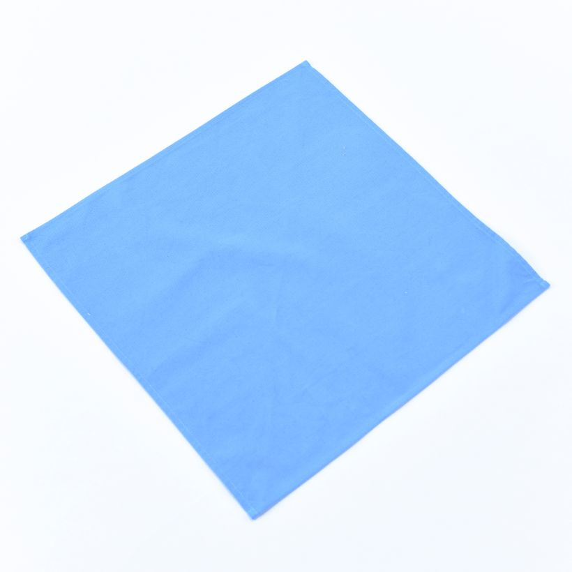 Vải Bố Soft Decor Blue Canvas