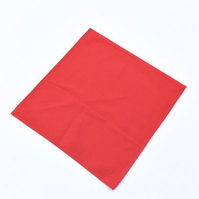 Vải Bố Soft Decor Bright Red Canvas
