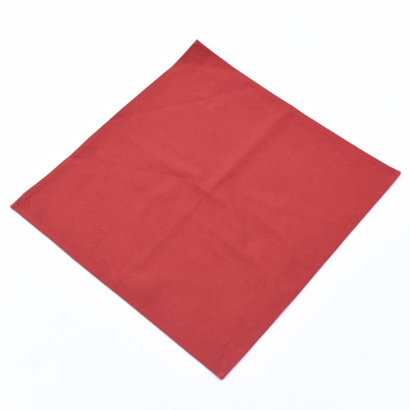 Vải Bố Soft Decor Burgundy Canvas