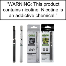 Load image into Gallery viewer, OOZE SLIM TWIST PRO PEN 2 in 1 VAPORIZER - 510 BATTERY