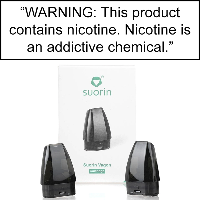 Suorin Vagon Replacement Pods - Pack of 2