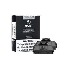 Load image into Gallery viewer, Uwell Amulet Black - Pod Kit