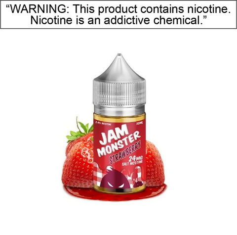 Jam Monster Salt E-Liquids