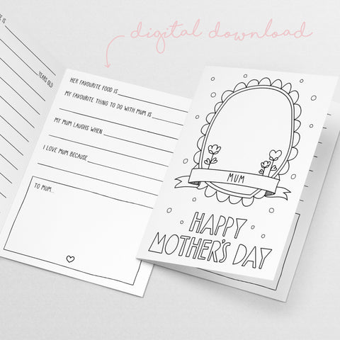 Mother's Day Card - Digital Download