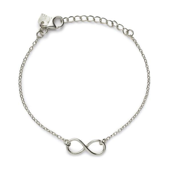 THE INFINITY BRACELET IN SILVER-Bracelet / Bangle-Black Betty Design