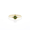 The Skinny Joy Ring in Green Tourmaline