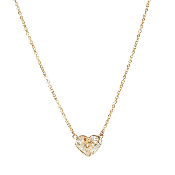 The Diamond Heart Necklace