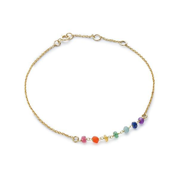 The Gold Plated Chakra Bracelet
