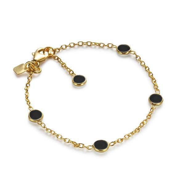 The Five Stoned Bracelet-Bracelet / Bangle-Black Betty Design