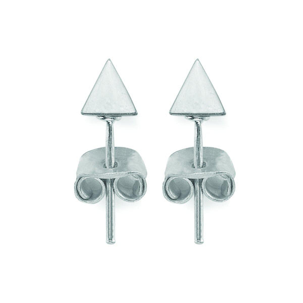 The Pyramid Studs In Silver