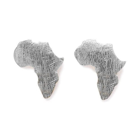 THE AFRICA STUDS IN SILVER