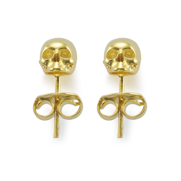 THE GOLD SKULL STUDS