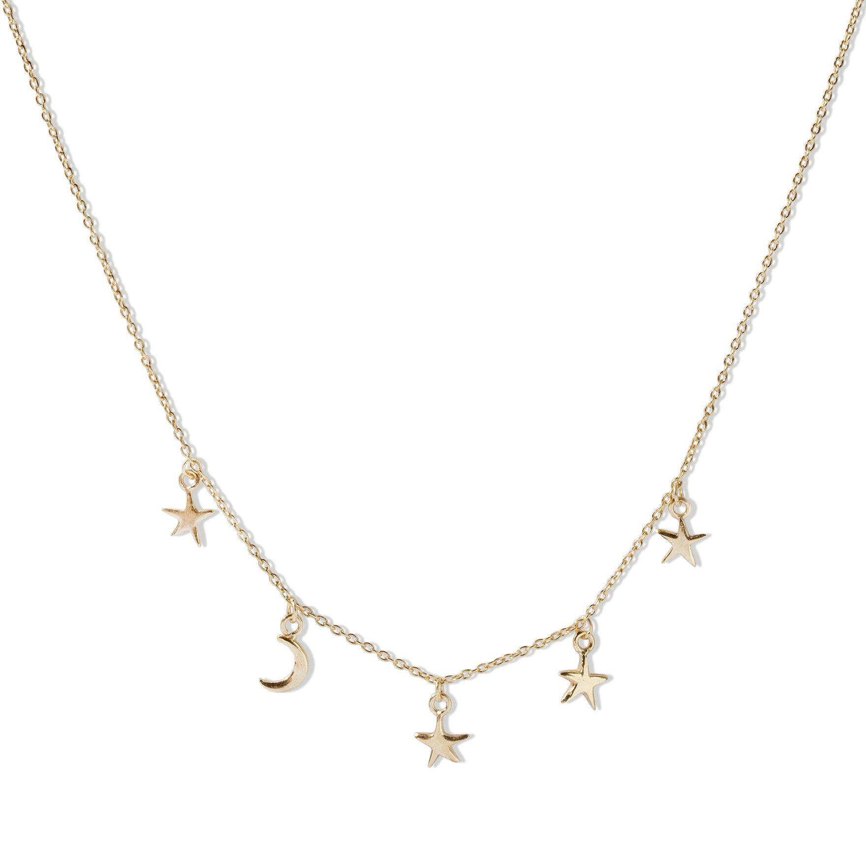 The Starry Night Necklace - Gold Plated