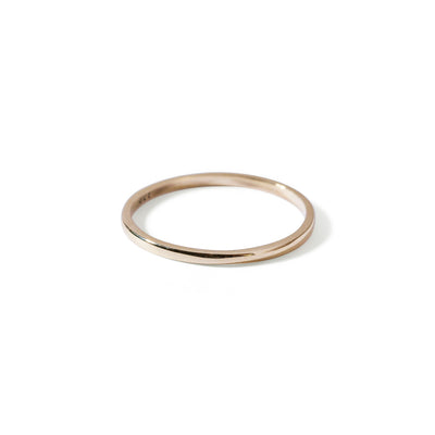 The 1.1mm Band in Yellow Gold