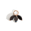 The Tri Spinel Marquise Charm in 9kt Rose Gold-Pendant-Black Betty Design