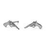 The Bang Bang Stud in Silver-Earrings-Black Betty Design