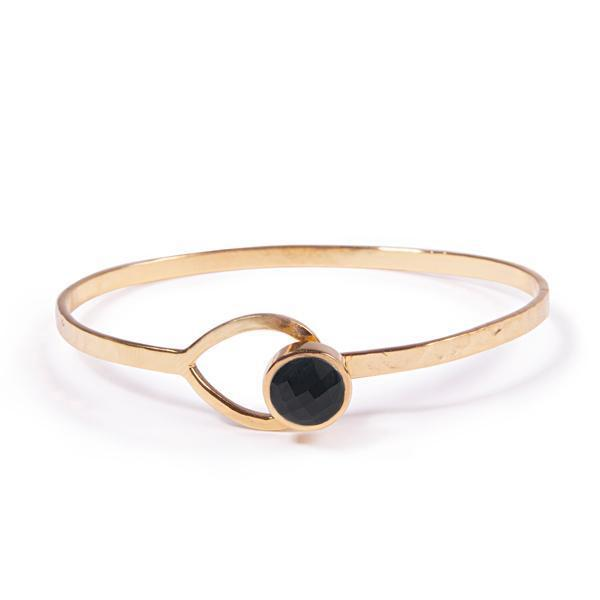 The Hooked LUNA Bangle-Bracelet / Bangle-Black Betty Design