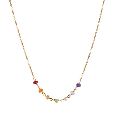 The Gold Plated Chakra Necklace