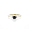 The Lewis Cluster Ring in Black Sapphire