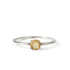 The Skinny Joy Citrine Ring in Silver