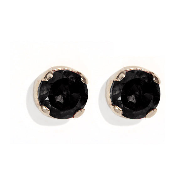 The Black Diamond Skinny Joy Studs-Earrings-Black Betty Design