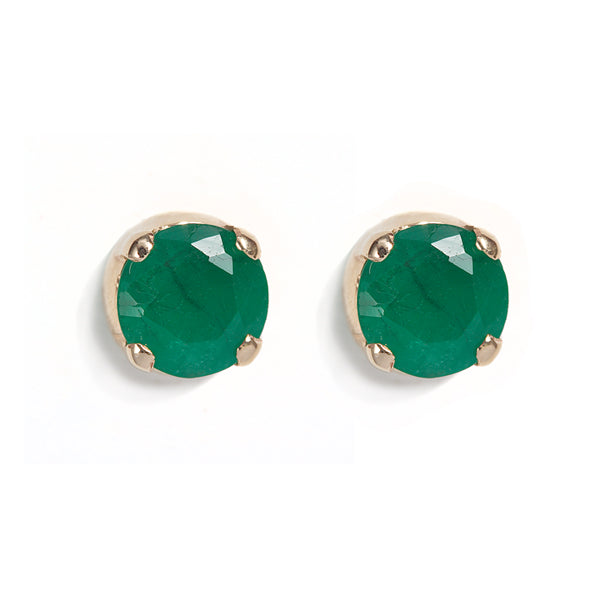 The Emerald Skinny Joy Studs-Earrings-Black Betty Design