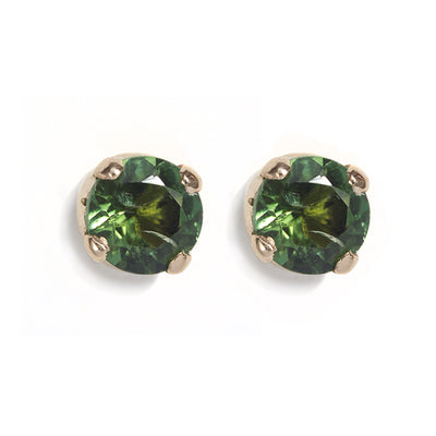 The Skinny Joy Green Tourmaline Studs