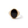 The Black Onyx Oval Signet Ring-Ring-Black Betty Design